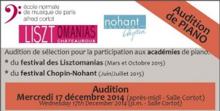Audition Lisztomanias Nohant Image WEB
